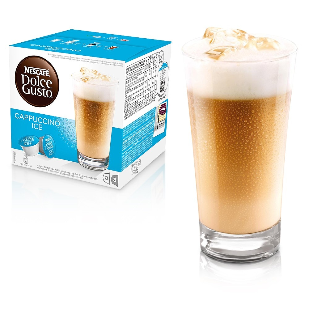 cappuccino ice cool drinks nescaf dolce gusto. Black Bedroom Furniture Sets. Home Design Ideas