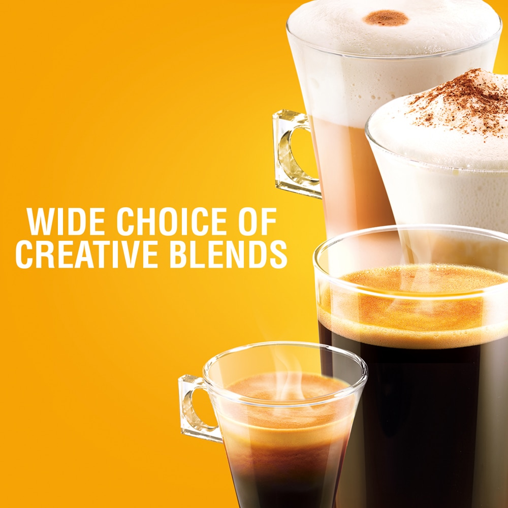 Wide Choice Of Creative Blends